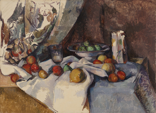 Still Life with Apples - Paul Cézanne. Photo courtesy of: www.moma.org