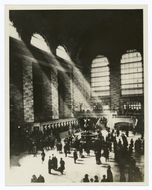 Grand Central Terminal. From Stephen A. Schwarzman Building / Photography Collection, Miriam and Ira D. Wallach Division of Art, Prints and Photographs, NYPL Digital Gallery